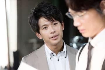 連続ドラマ「ハゲタカ」に出演する森崎ウィンさん=テレビ朝日提供