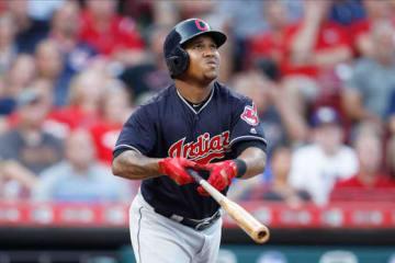 今季すでに35本塁打と大活躍のインディアンスのホセ・ラミレス【写真:Getty Images】