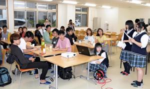 福島県復興の歩み視察 立命館大生が広野など訪問