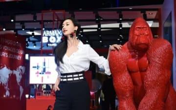 """""""美女と野獣""""のリン・チーリン、中華版バレンタインデーは1人きり?モデル体型の秘訣を語る―台湾"""