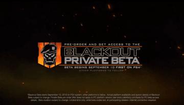『CoD:BO4』バトロワモード「Blackout」ベータは9月10日からPS4向けに先行配信