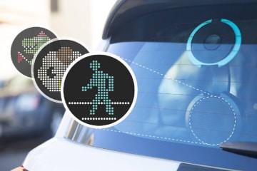 後続車とのコミュニケーションができる?!高性能カーディスプレイCarWink(カーウインク)日本上陸