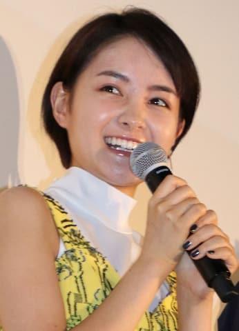 映画「青夏 きみに恋した30日」の女子会舞台あいさつに登場した葵わかなさん