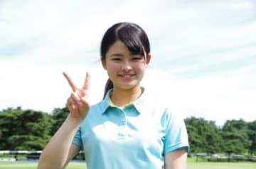 プラチナ世代・政田夢乃がリベンジ優勝にむけて好発進!(撮影:ALBA)