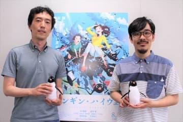 左から森見登美彦先生、石田祐康監督