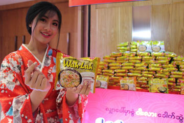 Japan's instant noodle giant Nissin Foods enters Myanmar market