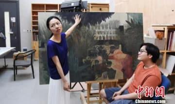 莫高窟で壁画の模写を続ける日中カップル、海外での展示を目標に―中国メディア