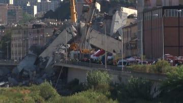 """30人超死亡...イタリアで橋崩落 """"老朽化""""日本でも..."""