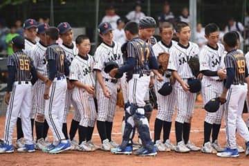 スリランカ相手に快勝した侍ジャパンU-12の選手たち【写真:Getty Images】
