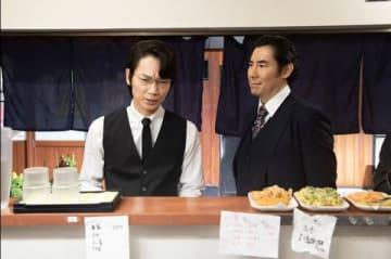 連続ドラマ「ハゲタカ」第5話の一場面=テレビ朝日提供