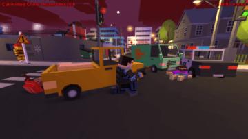 ローポリ犯罪都市オープンワールド『BROKE PROTOCOL』Steam版が期間限定無料配布!