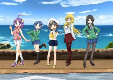 「World of Warships」のLINEスタンプ「ぷかぷか艦隊スタンプ」が8月17日に発売!