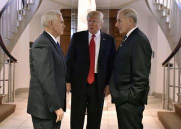 副大統領 マイク・ペンス ペンス 国土安全保障局長官 ジョン・F・ケリー ケリー トランプ ドナルド・トランプ