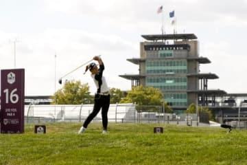 カーレースの本場でゴルフトーナメント!(撮影:GettyImages)