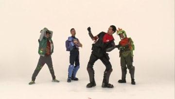 裏側も見ナイト!『フォートナイト』×「TOKIO」TVCMメイキング映像―お馴染みのダンスも