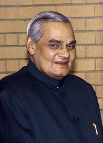 死去したアタル・ビハリ・バジパイ氏