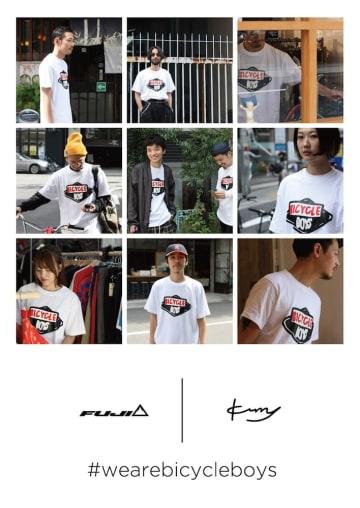 kurry氏ならではの、洒落の効いたデザインはFUJI BIKES JAPAN公式Instagramアカウントにて公開中!