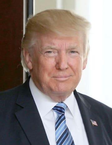 トランプ米大統領(ゲッティ=共同)