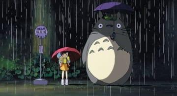 映画「となりのトトロ」の一場面 (C)1988 Studio Ghibli