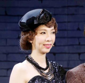 ブロードウェーミュージカル「ロジャース/ハート」の公開ゲネプロに参加した樹里咲穂さん