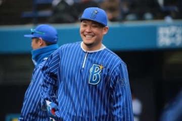 試合を決める本塁打を放ったDeNA・筒香嘉智【写真:Getty Images】