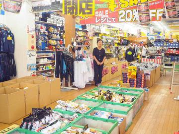48年の歴史に幕を閉じるスポーツプラザやよい=岐阜県関市桜ケ丘