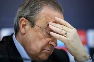 レアルのペレス会長 photo/Getty Images