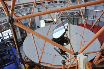 동아시아 최대 망원경 완성