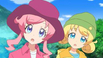TVアニメ『キラッとプリ☆チャン』第20話先行場面カット・あらすじ到着!山の奥へ奥へと足を踏み入れていくミラクル☆キラッツの三人は些細なことから衝突し……