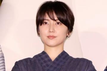 映画「銀魂2 掟は破るためにこそある」の完成披露試写会に登場した長澤まさみさん