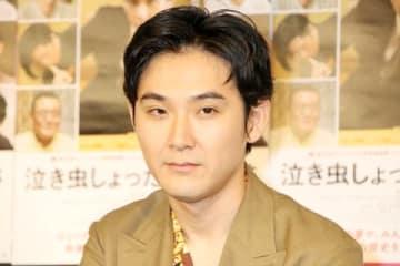 映画「泣き虫しょったんの奇跡」の公開記念トークイベントに出席した松田龍平さん