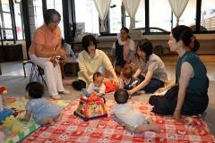 岡山、早島で乳幼児保護者サロン