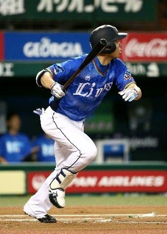 西武・秋山15度目の先頭打者弾 「攻める気持ち」で上沢から2年連続