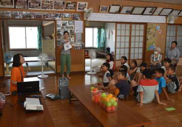 横通地区であった、小学生向けの認知症サポーター養成講座