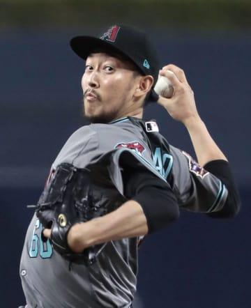 Baseball: Hirano picks up 4th win as Diamondbacks beat Padres