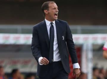 試合中、檄を飛ばすアッレグリ監督。今季もスクデットへ導けるか photo/Getty Images