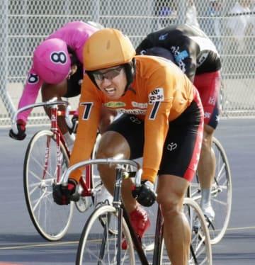第61回オールスターでG〓初優勝を果たした脇本雄太=8月19日、福島県のいわき平競輪場