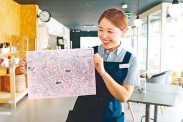 観光マップで魅力アップ 庄川・井波両地域が共同製作