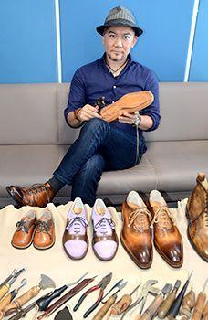 沖縄の感性 靴作りに イタリアで活躍、宮城さん(東村出身) 上質さ求め「挑戦続ける」