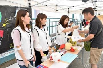 減ってます若者の献血 山形・県内学生が協力呼び掛け