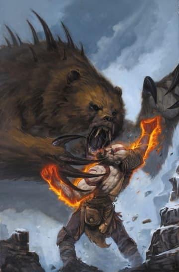 『ゴッド・オブ・ウォー』コミックが11月14日に海外発売―北欧に生きるクレイトスを描く