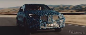 メルセデスベンツ EQC の開発プロトタイプ車