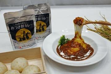 昨年、大賞に選ばれた愛媛県の「杵つき餅カレー」