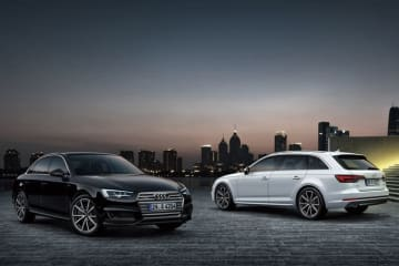 Audi A4 tuxedo style