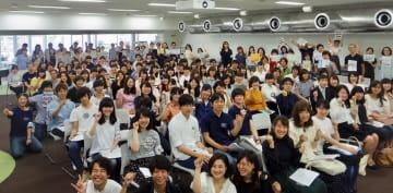 NPO法人アクションポート横浜が開いた大学生とNPOのマッチングイベント=横浜市立大学で