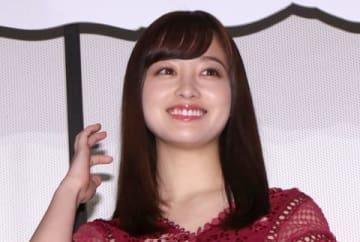 映画「銀魂2 掟は破るためにこそある」の初日舞台あいさつに登場した橋本環奈さん