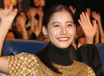 映画「劇場版コード・ブルー -ドクターヘリ緊急救命-」のMX4D上映会イベントに参加した新木優子さん