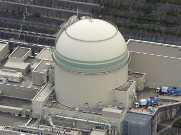 関西電力の高浜原発4号機=福井県高浜町