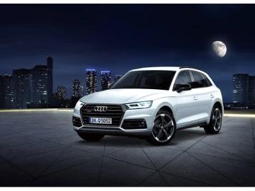 アウディ・ジャパンは、同社の2.0 TFSI quattro sportをベースとした限定モデル「Audi Q5 black edition」(写真)を250台限定で発売する