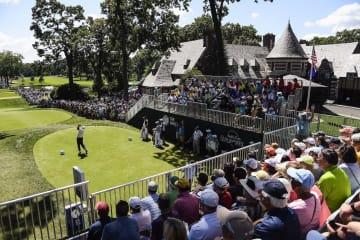 リッジウッドでこの大会が開催されるのはまだ大会名がバークレイズだった2014年以来 Photo by Chris Condon/PGA TOUR
